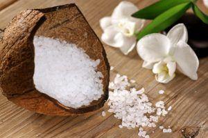 Meer Badesalz mit Kokosnuss